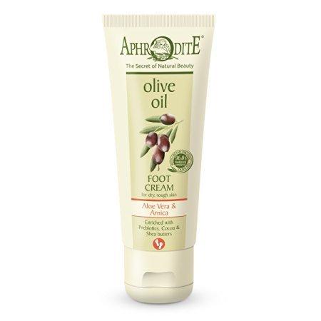 Aphrodite Olive Oil Foot Cream - Aloe Vera & Arnica 75 ml
