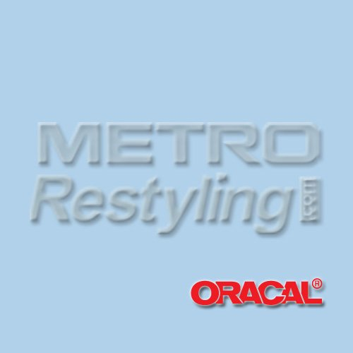"""Oracal 631 Matte POWDER BLUE Wall Graphic, Craft, Cricut & Sign Vinyl Decal Adhesive Backed Sticker Film 24""""x12"""""""