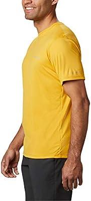 Columbia Zero Rules Camisa Técnica De Manga Corta, Hombre, Bright Gold, S: Amazon.es: Deportes y aire libre