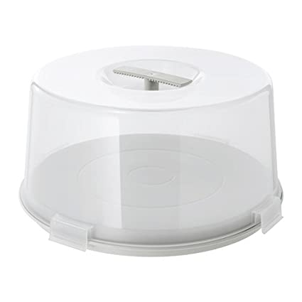 "Ikea Base para tartas ""krispig Reversible de plato para tartas con tapa y"