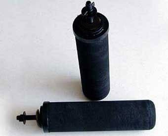 Vest-pocket Stem Black Berkey® purification elements for GO Berkey