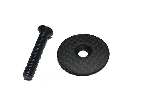 (DEERU Carbon Top Cap & Titanium Bolt (Matte-3g))