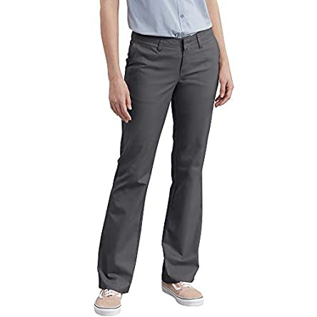Dickies Women's Flat Front Stretch Twill Pant...