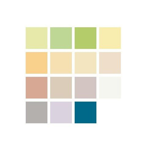 WILCKENS Pastell-Color Wandfarbe 2,00 EUR / L, Deckenfarbe, 5 Ltr ...