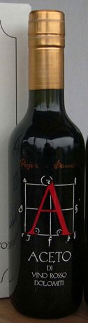 Pojer e Sandri Red Wine Vinegar, 12.7 fl - Vino Rosso Wine Red