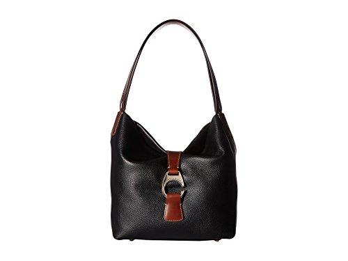 Hobo Dooney And Bag Bourke - Dooney & Bourke Belvedere Collection Logo Lock Hobo Bag