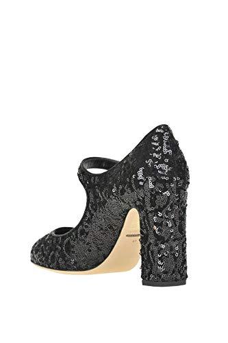 nero Gabbana Pompe Mcglcat04001i Donna e Paillettes Dolce w5xqfIAA