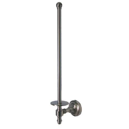 Retro Dot Wall Mounted Paper Towel Holder Finish: Antique Pewter