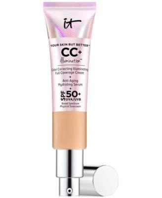 It Cosmetics CC+Illumination Cream SPF 50+ 1.08 Ounce (Fair Light)