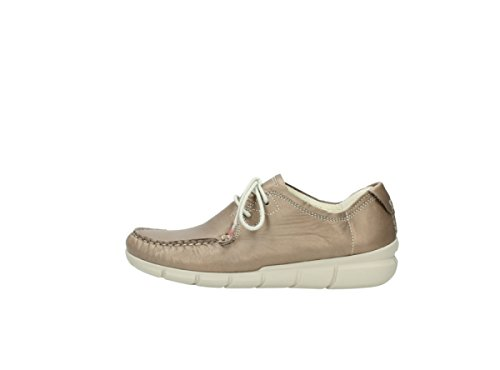 80150 Comfort Wolky Tunica Taupe up Lace Leather Shoes q4warXZnw