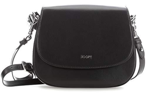Joop! Nausica Esmera Shoulderbag Shf - Sacs à bandoulière pour femme, Noir (noir), 9x20x25 Cm (l X H H)