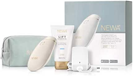 NEWA Clinically Proven Anti-aging Skin Tightening Technology (FDA CLEARED). Triggers New Collagen Production And Reduces Wrinkles, Tightens and Lifts The Skin. (Ivory)