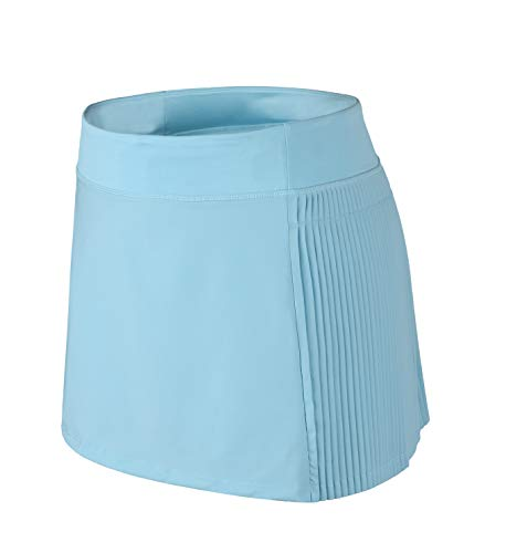 Gym Girl Ultra Skort - Women Skorts with Pockets Pleated Skirt High Waist Mini Skirts with Shorts Active Blue 10
