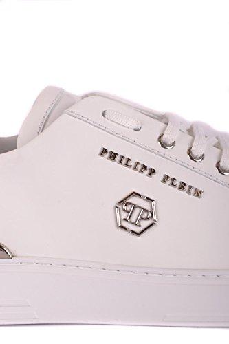 Plein Homme Philipp Msc1211ple008n01 Blanc Cuir Baskets UBRqRpS
