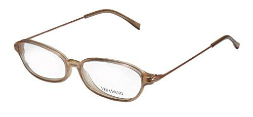 Vera Wang V21 Womens/Ladies Designer Full-rim Eyeglasses/Spectacles (49-14-135, - Nude Glasses Nerd