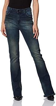 Calça Jeans Boot Cut, Forum, Feminino