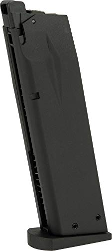 Evike Spare Metal Magazine for KJW/Softair Licensed P226 KP01 Series Airsoft Gas Blowback ()