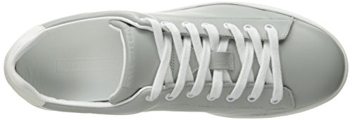 clearance low cost for cheap price Marc Jacobs Men's Clean Nappa Fashion Sneaker Grey sale 100% original Pny76R