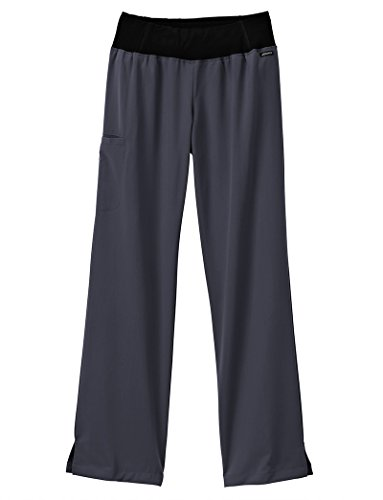 Modern Collection (Jockey® Scrubs Women's Modern Collection Perfected Yoga Scrub Pant, Charcoal, Small)