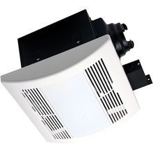 AirZone Fans PA1100VLE Premium Ultra Quiet Exhaust Ventilation Fan with 18W Fluorescent Lamps and Electronic Ballast, AC Motor, 1.3 Sones, 110 CFM Review