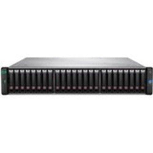 HP MSA 1050 12Gb SAS Dual Controller SFF Storage – 24 x HDD Supported – 76.80 TB Supported HDD Capacity – 2 x 12Gb/s SAS Controller – RAID Supported 1, 5, 6, 10-24 x Total Bays – 24 x 2.5 Bay