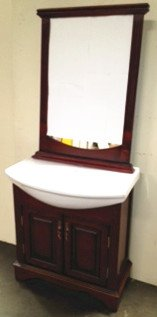34u0026quot; White Ceramic Counter With Sink Bathroom Vanity Cabinet At2002
