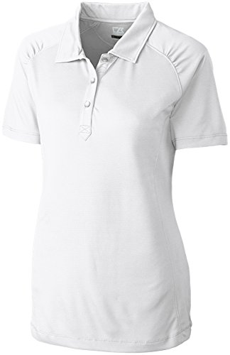 Cutter & Buck LCK02563 Women's CB DryTec Northgate Polo White 3XL