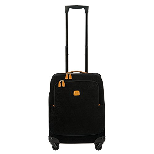 - Bric's Life 21 Inch International Spinner Carry-On Luggage, Black