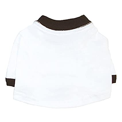 Amazon Com Plain Blank Dog T Shirt With Sleeves Loose Fitted