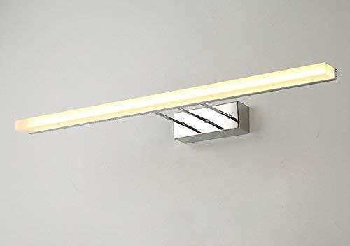 Fenciayao バスルームのモダンでシンプルな防水フォグバスルームの防水LEDプロジェクターミラー (Color : Warm White-16w80cm)  Warm White-16w80cm B07R1WYT8P