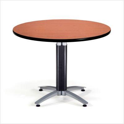 OFM KMT42RD-GRYNB Round Multi-Purpose Table, Metal Mesh Base, 42