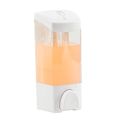 XiangYi Shower Soap Dispenser 300ML Wall Mounted for Kitchen Shower and Bathroom, Two Options for Installation