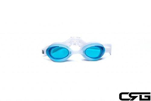 CRG Sports BLUE UV Protection Anti Fog Adjustable Swim Swimm