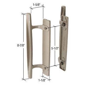 Stone 8 7 8 Quot Sliding Glass Door Handle Set 1 5 8