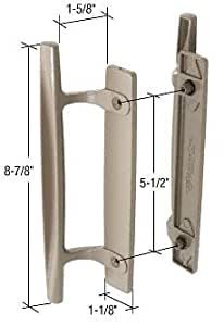Stone 8 7 8 Quot Sliding Glass Door Handle Set 1 5 8