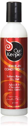 CURLY HAIR SOLUTION Curl Keeper Leave-In Conditioner - Protection Against High Humidity Conditions, No More Frizzy or Flyaway Hair, No Product Build-Up (8 Ounce / 240 Milliliter)