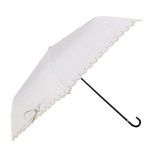 Juner UV Resistance Umbrella Aluminum Alloy Three Fold Hand Open Sun Protection Pure Color Parasol