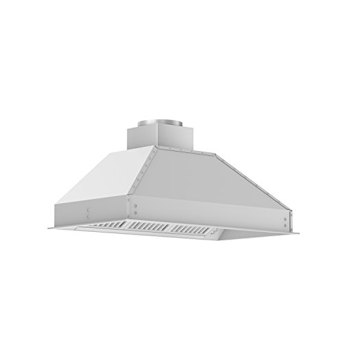 Z Line 721-RS-40 900 CFM Range Hood Insertd with Remote Single Blower, 40'