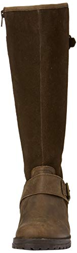 Browns Langschaftstiefel A Damen Joe Brown Boots Braun Premium Leather Rider Z7nqT
