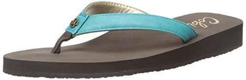 Cobian Women's Skinny Bounce, Teal, 8 M US