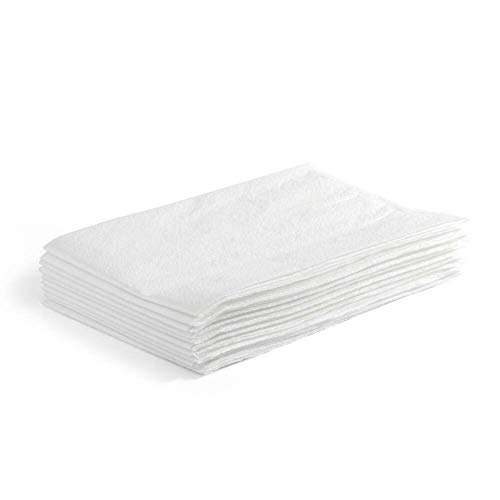 - MediChoice Pillow Case, Standard, Disposable, Tissue/Poly, 21 Inch x 30 Inch, White (Case of 100)