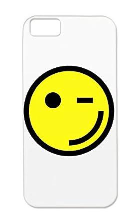 Rugged Smile Wink Symbols Shapes Face Emotions Emotion Happy