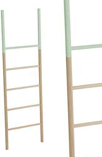 Hogar Deco Escalera Madera Verde 150 cm: Amazon.es: Hogar