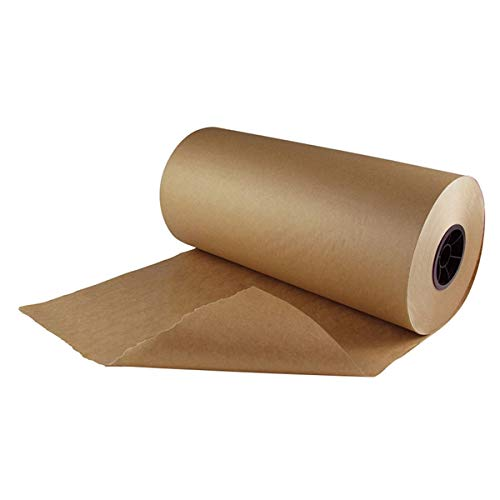 Delta Paper Natural Kraft Freezer Paper Quilting, Sewing, Appliqué, Art. Brown 1000' Length x 17'' Width | 1/Roll by Delta Paper Corporation