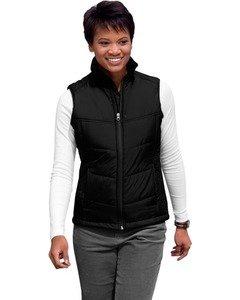 Port Authority - Ladies Puffy Vest. L709 - Black/Black_L