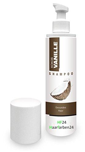 Kokos Vanille Shampoo 250 ml für normales Haar -Frei von synthetischen Silikonölen und Parabenen