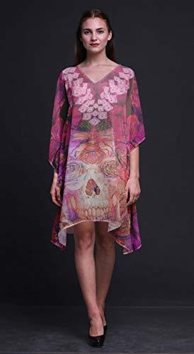 Kaftan Grande Floral Pour Femmes Wear Violet Plus Caftan Phagun Taille  Summer Crâne Amp; WCc1Ygvqvx