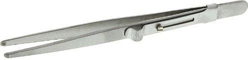 SE 555TW 5Pearl/Bead Holder Tweezers with Slide ()