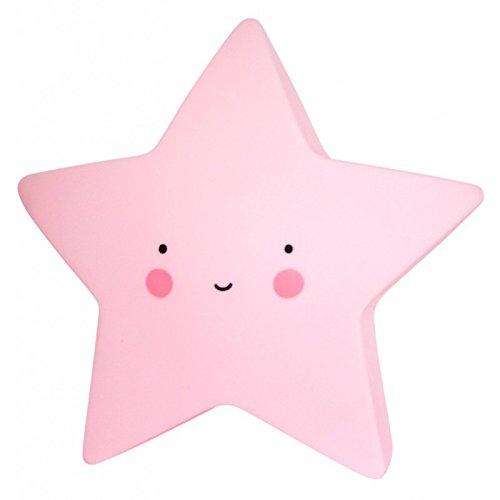 A Little Lovely Company–Mini Flame: Stella Color Rosa–allc-ltsp030