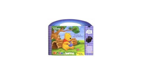 WTP. PINTA Y BORRA: Disney. Winnie the Pooh: 9788408075820 ...